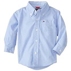 Tommy Hilfiger Baby-Boys Infant Long Sleeve Vineyard Shirt