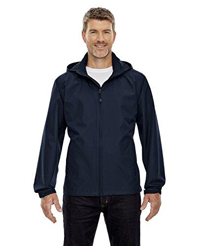 North End Men's Zipper Techno Lite Jacket, MIDN NAVY 711, Large