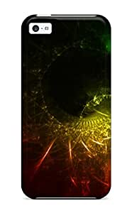 Premium Abstract Cool Ipad Back Cover Snap On Case For Iphone 5c