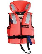 Lalizas | Fast-räddningsväst | fast väst | 100 N, CE ISO 12402-4-certifierad för småbarn | barn | kvinnor | män