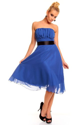 Young-Fashion - Vestido - Noche - para mujer Azul