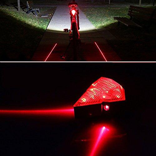 Bicycle Waterproof Rechargeable Diamond Flashing