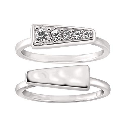 Silpada 'Spotlight Stack' Sterling Silver Rings, Size 7, Size 7
