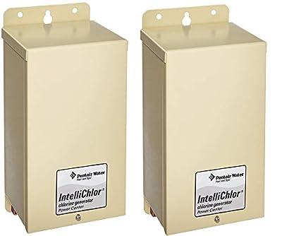 Pentair 520556 IntelliChlor Power Center for Salt Chlorine Generator Systems (US Version) (Pack of 2) from Pentair