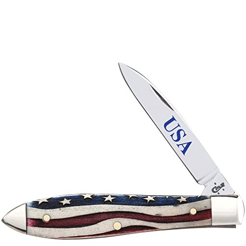 W.R. Case & Sons Cutlery Star Spangled Tear Drop Knife