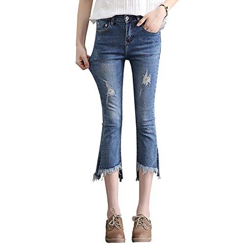 Zhuhaitf Boys Breathable Cotton Underpants 7 PCS Kids Stripe Flat Underwear