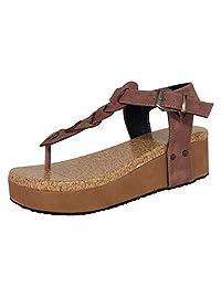 Gillberry Women's Flip Flops Thick Bottom Sandal
