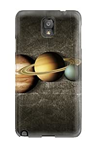 Cute High Quality Galaxy Note 3 Planets Case
