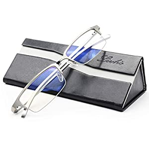 Livho Blue Light Blocking Glasses,Transparent Lens,Computer Glasses,Anti Eyestrain/Anti Scratch/Anti UV Ray,Sleep Better…