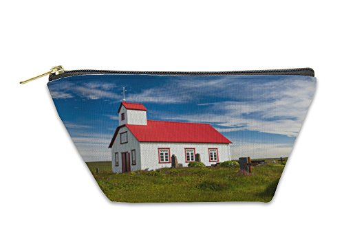 Gear New Accessory Zipper Pouch, Church In The Iceland, Small, 6008068GN by Gear New