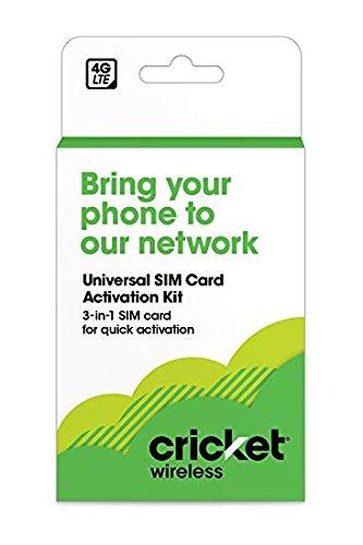 Cricket SIM Card (Red) by Cricket Wireless