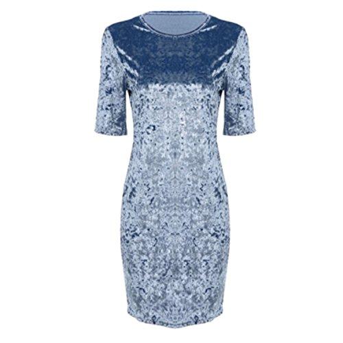 Keshia Dwete Sexy Club Mini Party Dresses Female vestidos robe femme ice blue - Aliexpress Jersey Review