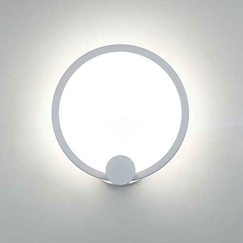 d Aluminum Wall Lamp Simple Modern Creative Corridor Entrance Bedroom Balcony ( Size : L white light ) ()
