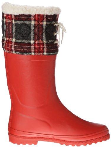 Aigle Polka Giboulee - Botas de caucho mujer Rojo - Rouge (Rouge/Feutre)