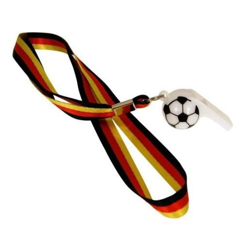 10 x Whistle Germany Lanyard for FIFA World Cup 2014 Pohly®