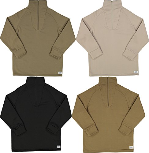 Men s Cold Weather Fleece-Lined Zip UP Thermal Military ECWCS ... 043c7a6559e
