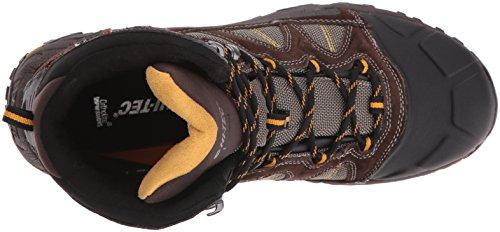 Hi-tec Mens Altezza Lite 200 G Impermeabile-m Snow Boot Cioccolato Fondente / Bungee Gold
