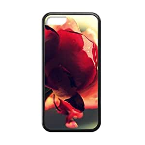 beautiful red flowers personalized high quality cell phone case for iphone 6 4.7