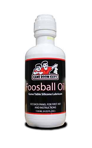 Price comparison product image Game Room Guys Foosball Rod Silicone Lubricant 4oz Bottle No Spill Applicator