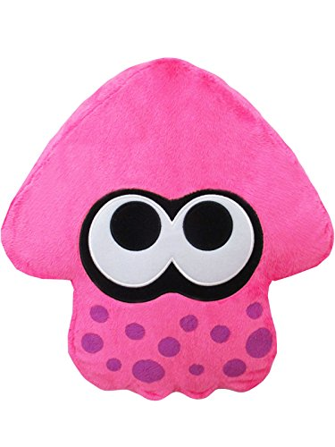 Little Buddy Splatoon 2 Series-1662-Neon Pink Squid Cushion Plush Children Toys, 14