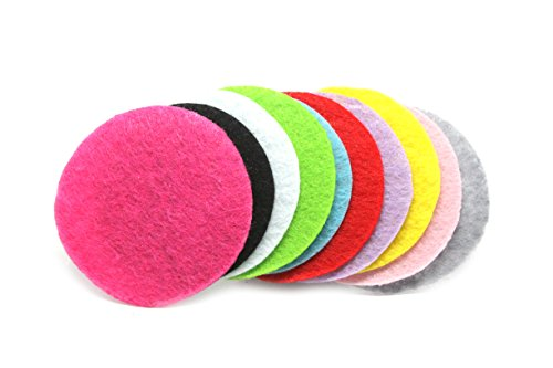 100 Pieces JLIKA Felt Circles (1.5 Inches) Assorted Colors Non-Adhesive Round (Fabric Large Circle)