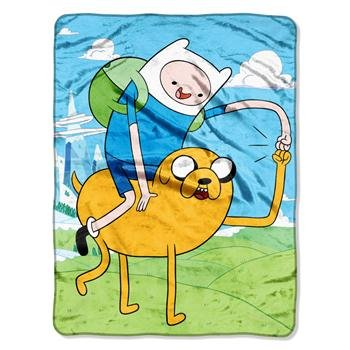 Adventure Fleece - Adventure Time, Fist Pump Micro Raschel Throw, 46