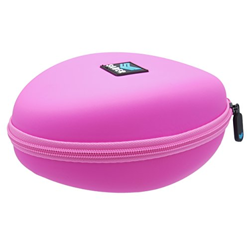 Beats Solo, Solo2, Solo3 Compact Travel Hard Protective Headphone Case by Saber (PINK)