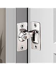(2 pakketten) 90 graden flip deurslot rechthoekig gebogen deurgesp deur gesp bouten scheunentdeur slot schuifdeurslot speciaal deurslot