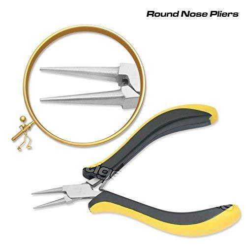PTL Prestige Rundzange Slimline Schmuckherstellung Perlung Werkzeuge ergonomische 5  #04315