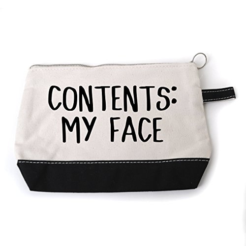 Funny Cosmetic Make Up Bag by Joyful Moose