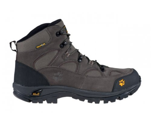 Jack Wolfskin Botas De Trekking Sapatos Todo O Terreno Texapore Men Pedra Escura, Tamanho: 42