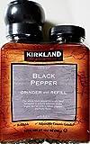 kirkland pepper grinder - Kirkland Signature Black Pepper Adjustable Grinder with Refill, 12.6 Ounces