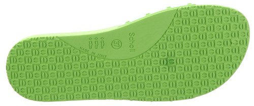 Scholl Pop - Sandalias de pala unisex Verde (LIME GREEN 1034)