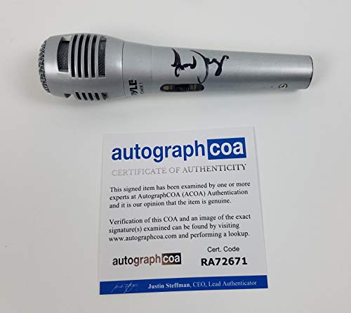 Lady Gaga Autographed Signed Microphone ACOA