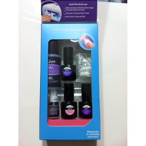 Gel Manicure Kit Polish Everlasting New Well Kiss French Wreapped SzUVpqM