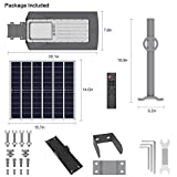 TENKOO LED Outdoor Solar Street Lights, IP65