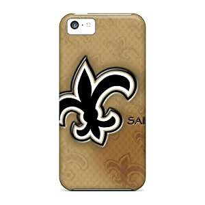 For OED22102tNLv New Orleans Saints Protective Cases Covers Skin/iphone 5c Cases Covers