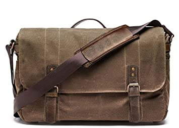 Amazon.com: ONA - The Union Street - Camera Messenger Bag - Field ...