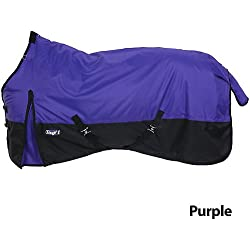Tough 1 600 Denier Turnout Blanket 72In Purple