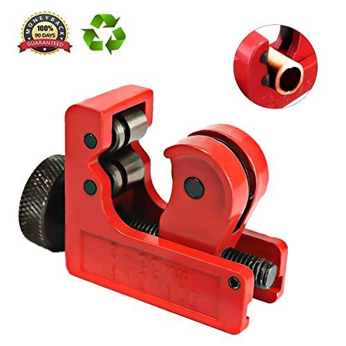 GOCHANGE Mini Tube Cutter Slice Copper Aluminum Tubing Pipe Cutting Tool 3-22mm ()