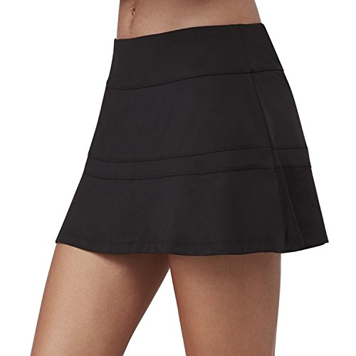 - Fila Women's Ruffle Bottom Skort, Black, XS
