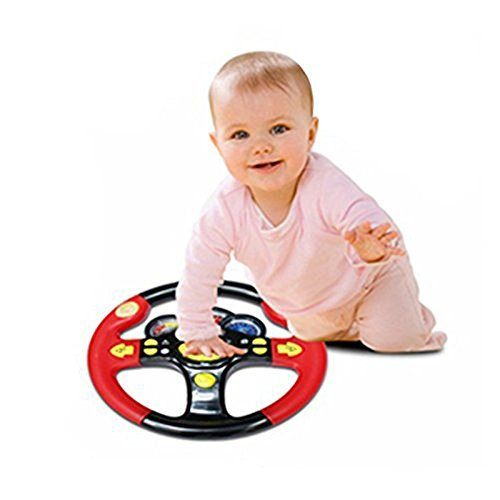 CCXZXF Turn and Learn Driver Kids Driving the Steering Wheel - with Music, Various Driving Sounds by CCXZXF (Image #2)