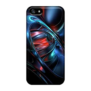 Scratch-free Phone Cases Case For Sam Sung Note 3 Cover - Retail Packaging - Dark 3d Abstract Black Friday