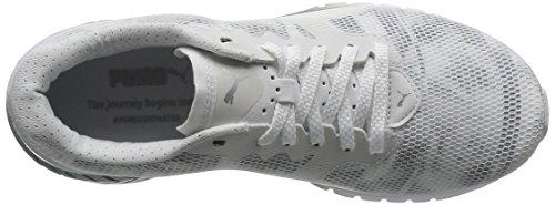 Gris Zapatillas 02 Dual Mujer Blanco quarry Swan Ignite Blanco de Wn's Puma para Puma Running White wTxAqA