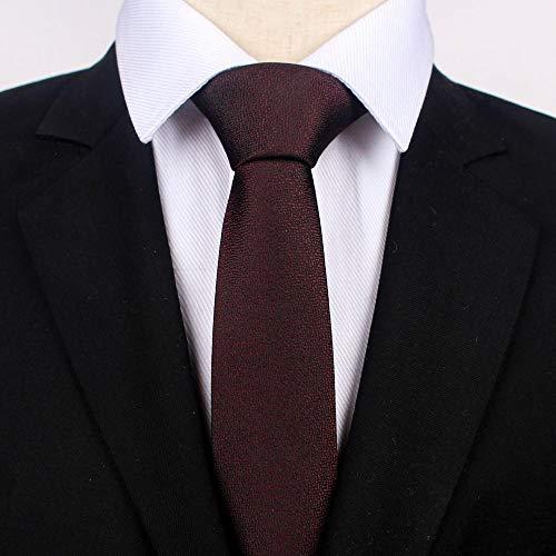 GLMXJJ Corbata De Metal Brillante para Hombre Camisa para Hombre ...