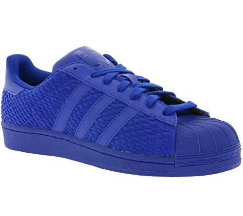 Scarpe Da Ginnastica Adidas Originali Superstar Mens Sneakers S31641 (us 7.5, Blu Royal Aq3050)
