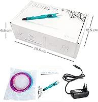 DEWANG 3d impresora Pen 2.0 garabateando lápiz Kit con pantalla ...
