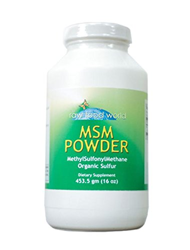 Organic MSM Powder - 1 Pound