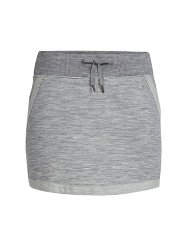 Icebreaker Merino Women's Zoya Winter Skirt w/Drawstring, Soft, Breathable, Warm, Merino Wool