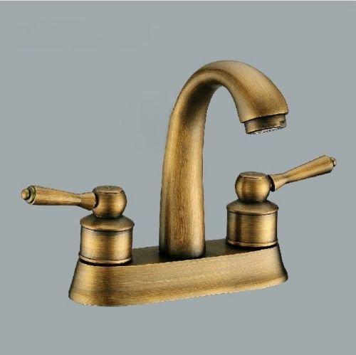 Detroit Bathroom Antique Brass Faucet Bathroom Antique